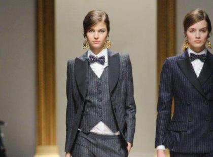 Damska moda w męskim wydaniu