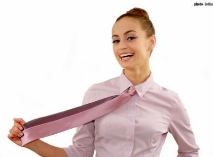 Damskie krawaty