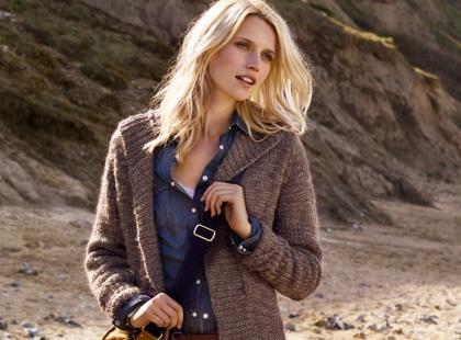 Damskie swetry i kardigany H&M - jesień/zima 2011/2012