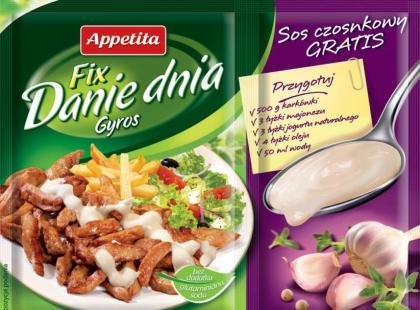 Danie dnia - nowe fixy Appetita