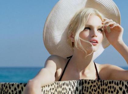 Daphne Groeneveld w kampanii Dior Addict