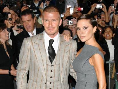David Beckham ma gest