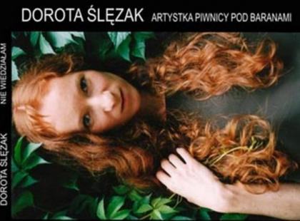 Debiutancka autorska płyta Doroty Ślęzak - artystki Piwnicy Pod Baranami