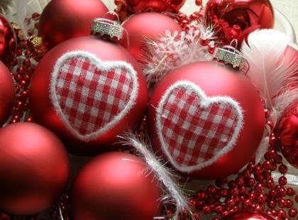 Dekoracje świąteczne - bombki choinkowe