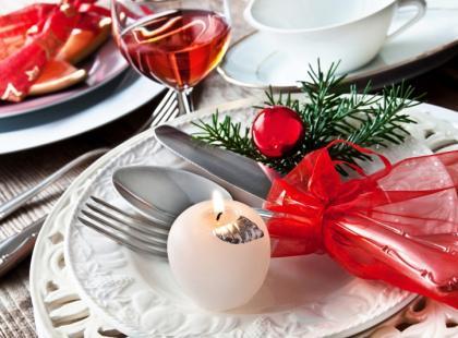 Dekoracje świątecznego stołu - 7 stylizacji