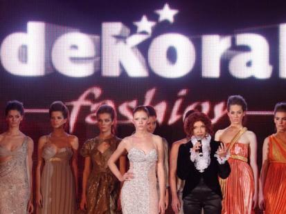 Dekoral Fashion Show - kolekcja Evy Minge
