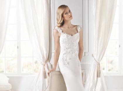 Delikatne suknie ślubne