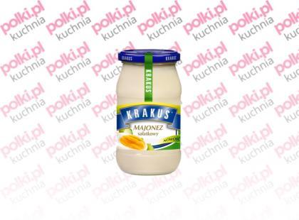 Delikatny majonez sałatkowy Krakus