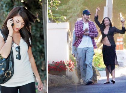 Demi Moore i Ashton Kutcher - Ich dwoje i kochanka