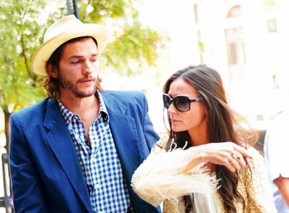 Demi Moore i Ashton Kutcher - Koniec miłości