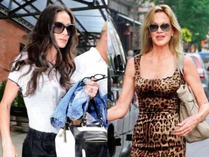 Demi Moore i Melanie Griffith - W imię miłości?