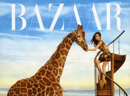Demi Moore w krainie czarów - sesja dla Harper's Bazaar