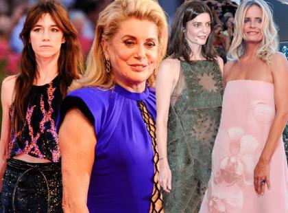 Deneuve z córką, Gainsbourg i stylizacje innych gwiazd na festiwalu w Wenecji