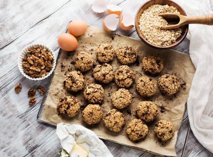 Deser idealny na drugie śniadanie - sprawdź nasze przepisy na ciastka owsiane