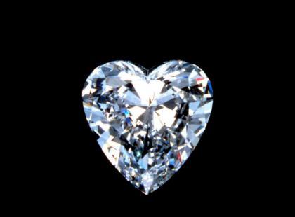Diamentowe serce na Walentynki