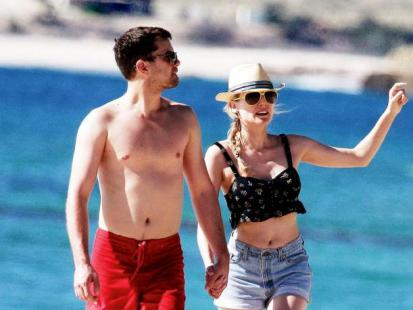 Diane Kruger i Joshua Jackson - Romantyczny spacer