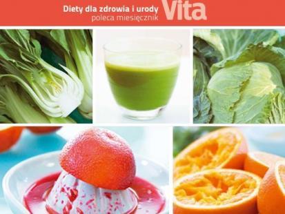 Diety dla zdrowia i urody - nowa kolekcja książek VITY