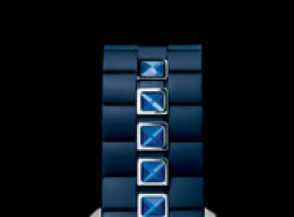 "Dior Christal ""Rubber blue"""