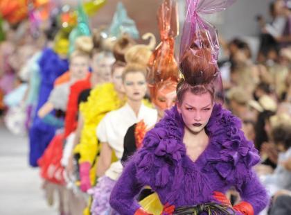 Dior haute couture jesień-zima 2010/2011