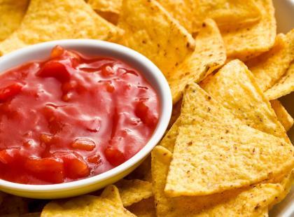 Dip na przecierze pomidorowym