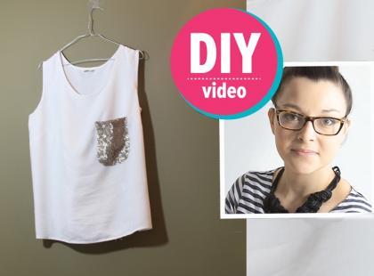 DIY z Ulą: jak urozmaicić jednokolorową koszulkę [video]