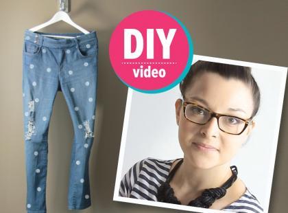 DIY z Ulą: spodnie Marca Jacobsa [video]