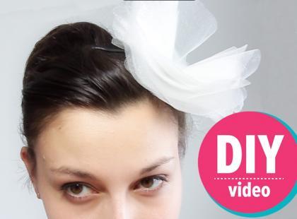 DIY z Ulą: tiulowa ozdoba na włosy [video]