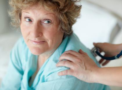 Pacjentka podczas badania /fot. Shutterstock