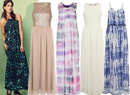 Długie sukienki na lato 2013