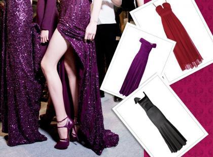 Długie sukienki na studniówkę 2014 - suknie studniówkowe
