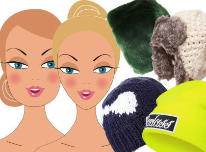 Dobieramy czapki do kształtu twarzy