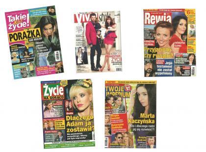 Doda i Nergal, Malinowska i Janiak oraz porażka Anny Muchy - czyli najświeższe plotki z kolorowych gazet