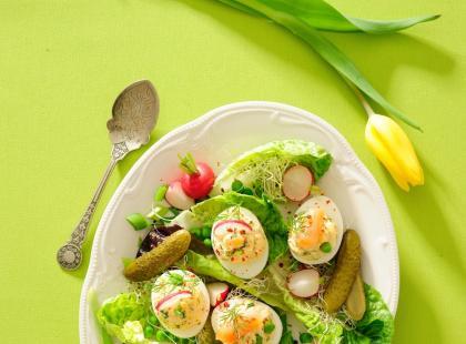 Dodaj świętom zielonego akcentu! Przygotuj doskonałe jajka faszerowane awokado!