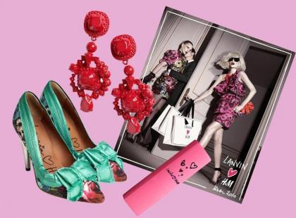 Dodatki Lanvin dla H&M