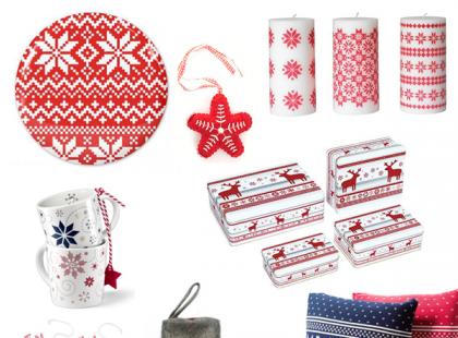 Dodatki świąteczne w skandynawskim stylu - galeria