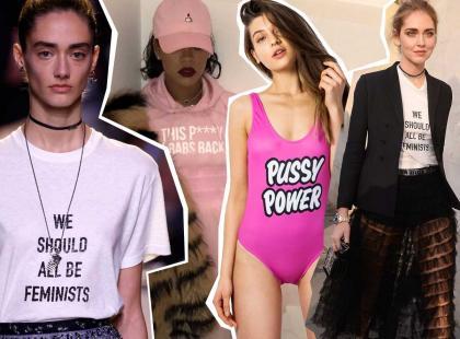 Dołącz do rewolucji! Feminizm jednym z najgorętszych trendów... w modzie?