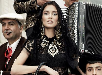 Dolce&Gabbana - kampania na sezon jesień-zima 2012/2013