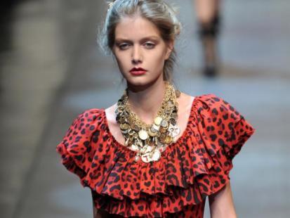 Dolce & Gabbana: pokaz wiosna-lato 2010 (video)