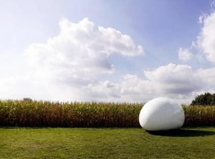 Dom jak ogromne jajko – Blob VB3