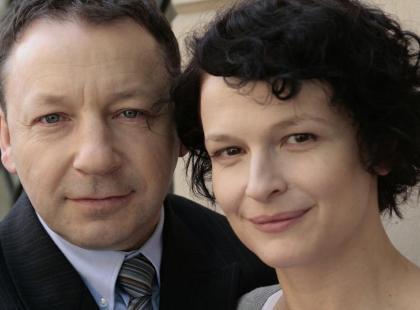 """Dominika Ostałowska i Zbigniew Zamachowski w """"Projekcie dziecko"""""""
