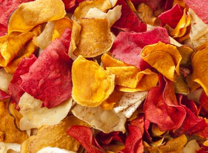 Domowe chipsy - przepis