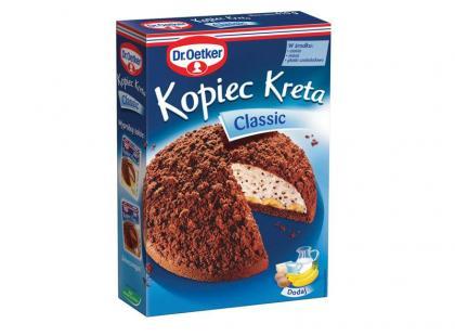 Domowe ciasto a'la kopiec kreta - przepis
