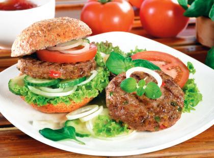 Domowe hamburgery - przepis