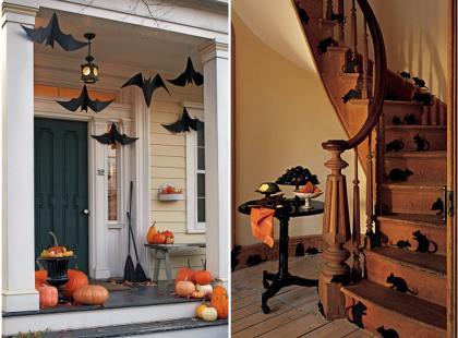 Domowy wystrój na Halloween