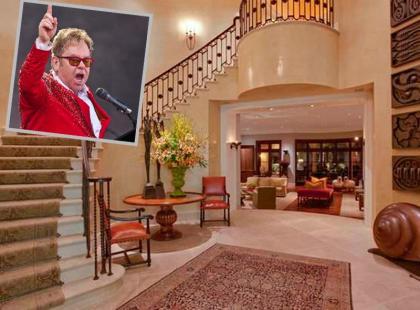Domy gwiazd: tak mieszka Elton John!