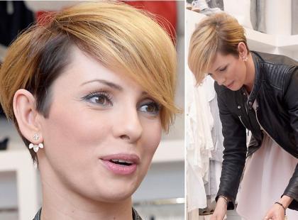 Dorota Gardias zabrała córkę na otwarcie butiku