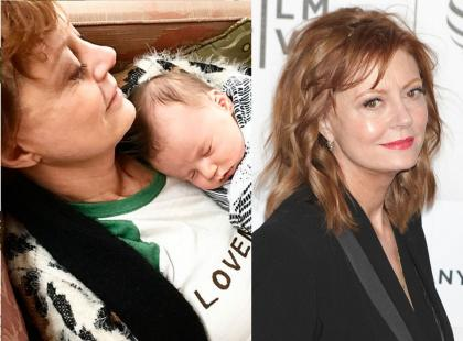 """Dramat! 3-miesięczny wnuczek Susan Sarandon miał wypadek. """"Pęknięta czaszka, pojawiło się krwawienie w mózgu"""""""