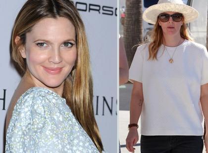 Drew Barrymore ma problem z nadwagą?