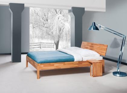 Drewno w zimowej aranżacji