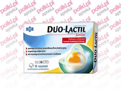Duo-Lactil - probiotyk połączony z prebiotykiem